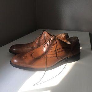 Johnston & Murphy Wingtip Dress Shoes